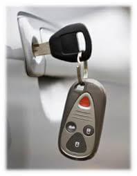 car lock and key